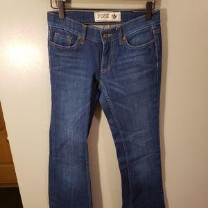 Vs pink jeans
